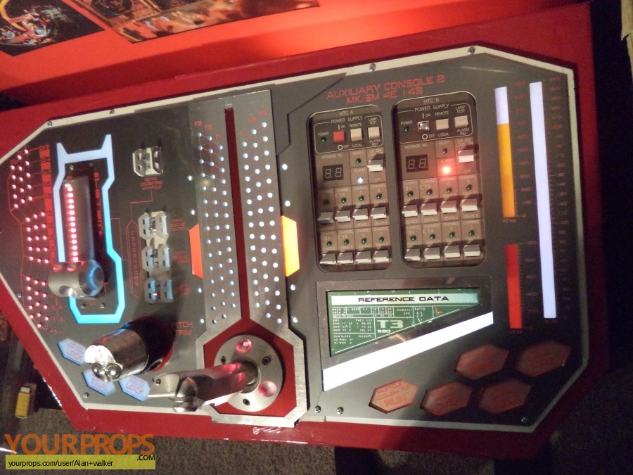Thunderbirds original movie prop