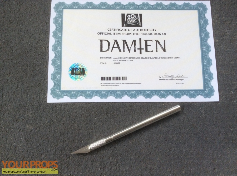 Damien original movie prop