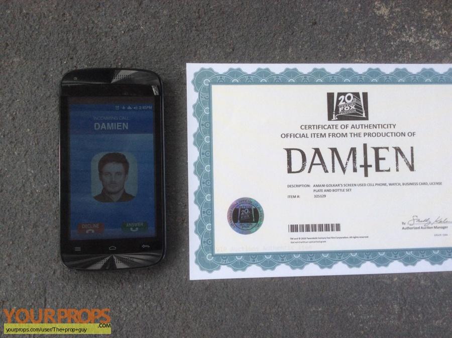 Damien original movie prop