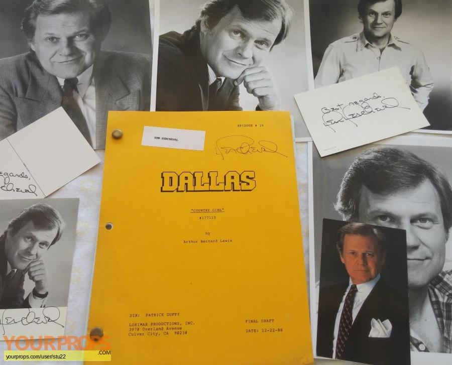 Dallas original production material