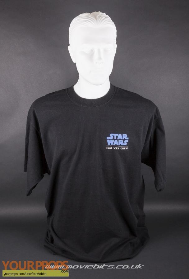 Star Wars  The Phantom Menace original film-crew items