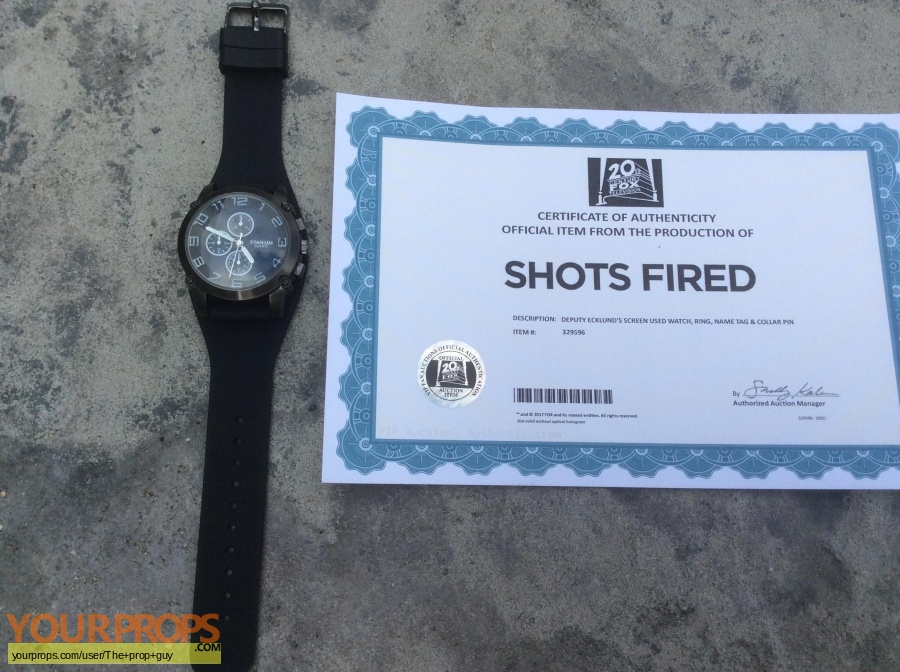 Shots Fired original movie prop
