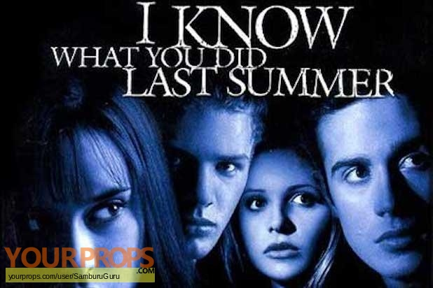 I Know What You Did Last Summer original production material
