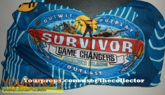 Survivor Game Changers original movie prop