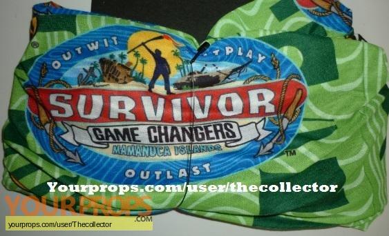 Survivor Game Changers original movie prop
