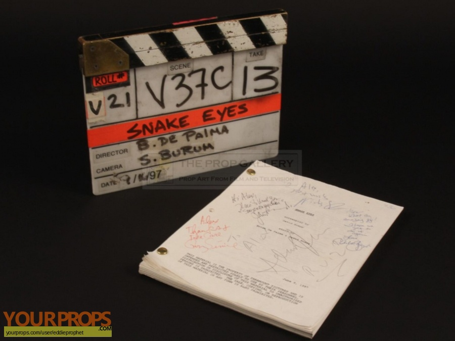 Snake Eyes original production material