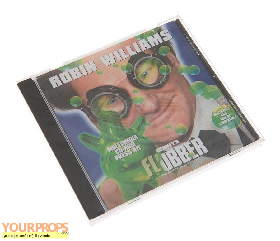 Flubber original production material