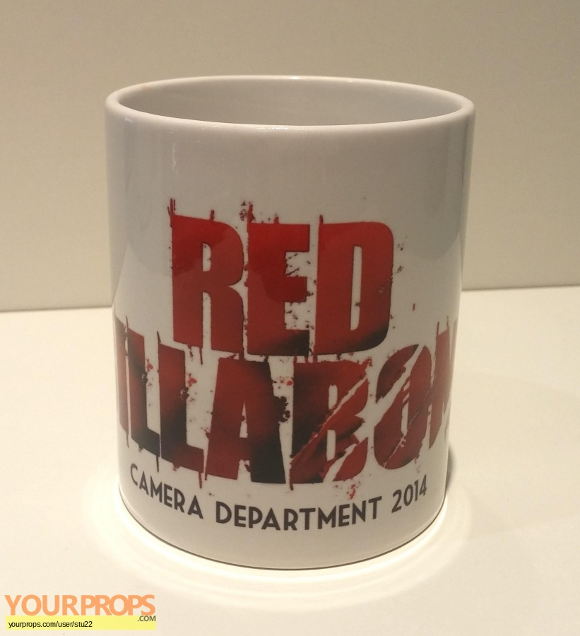 Red Billabong original film-crew items