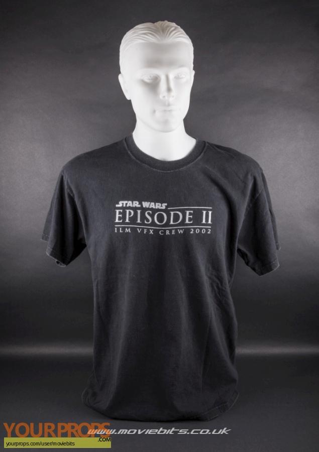 Star Wars  Attack Of The Clones original film-crew items