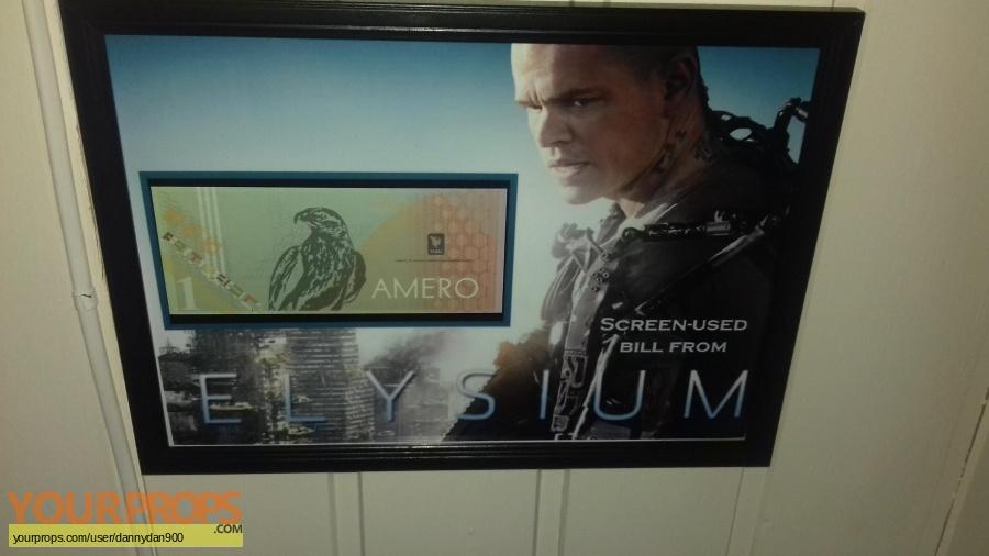 Elysium original movie prop