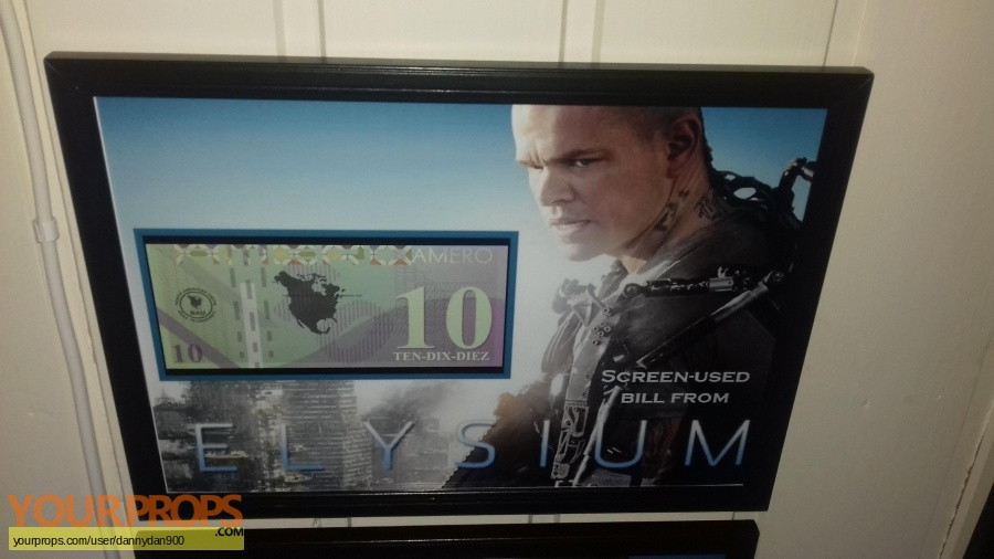 Elysium original movie prop