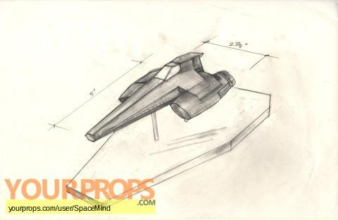 Battlestar Galactica original production artwork