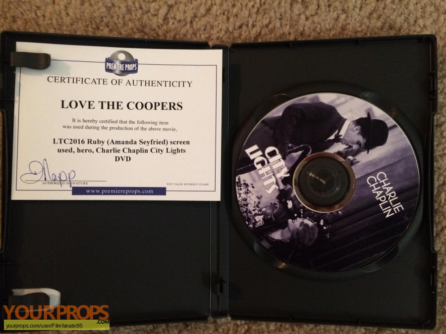 Love the Coopers original movie prop