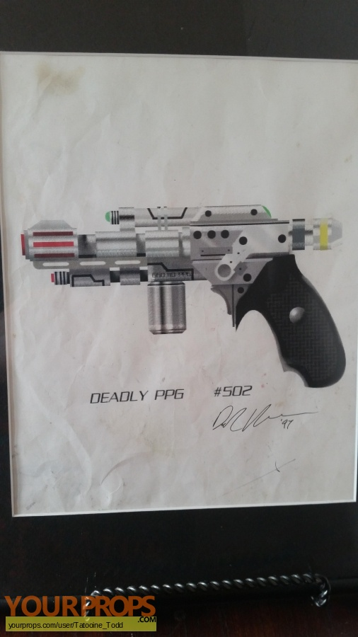 Babylon 5 original production artwork