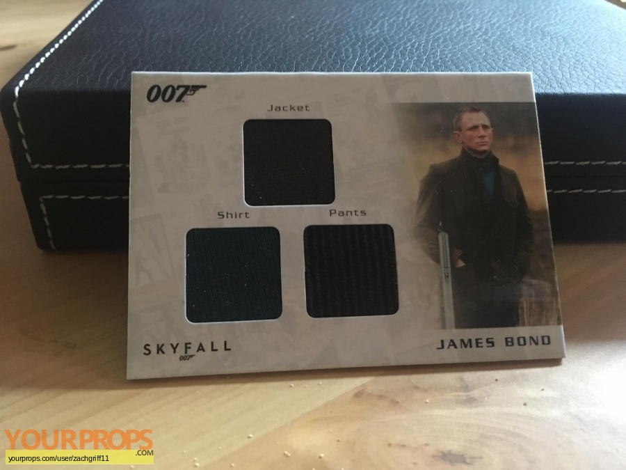 James Bond  Skyfall swatch   fragment movie costume