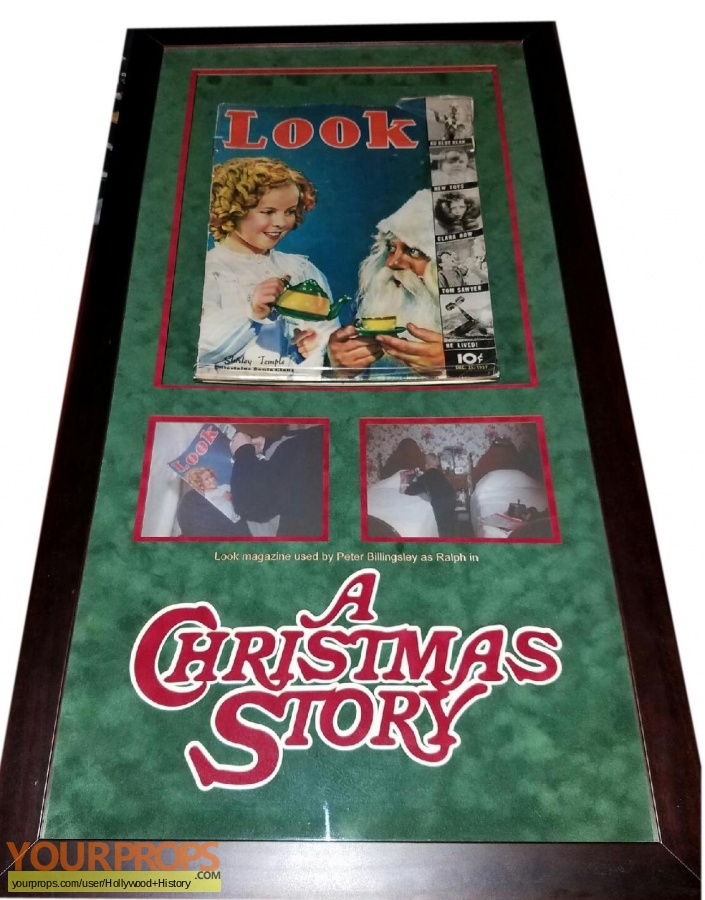 A Christmas Story original movie prop