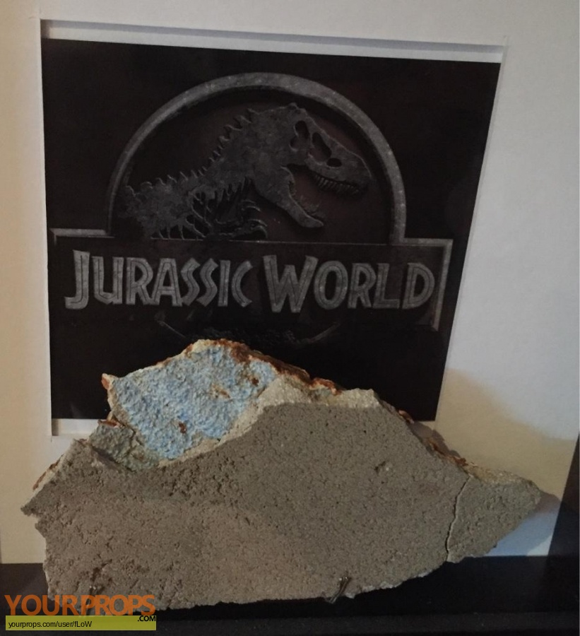 Jurassic World original set dressing   pieces