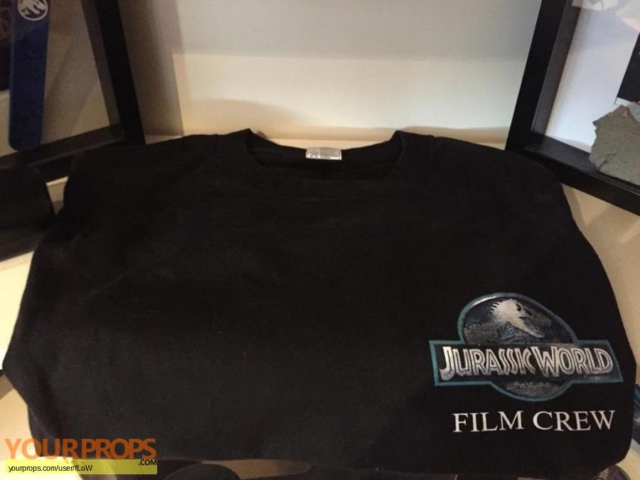 Jurassic World original film-crew items