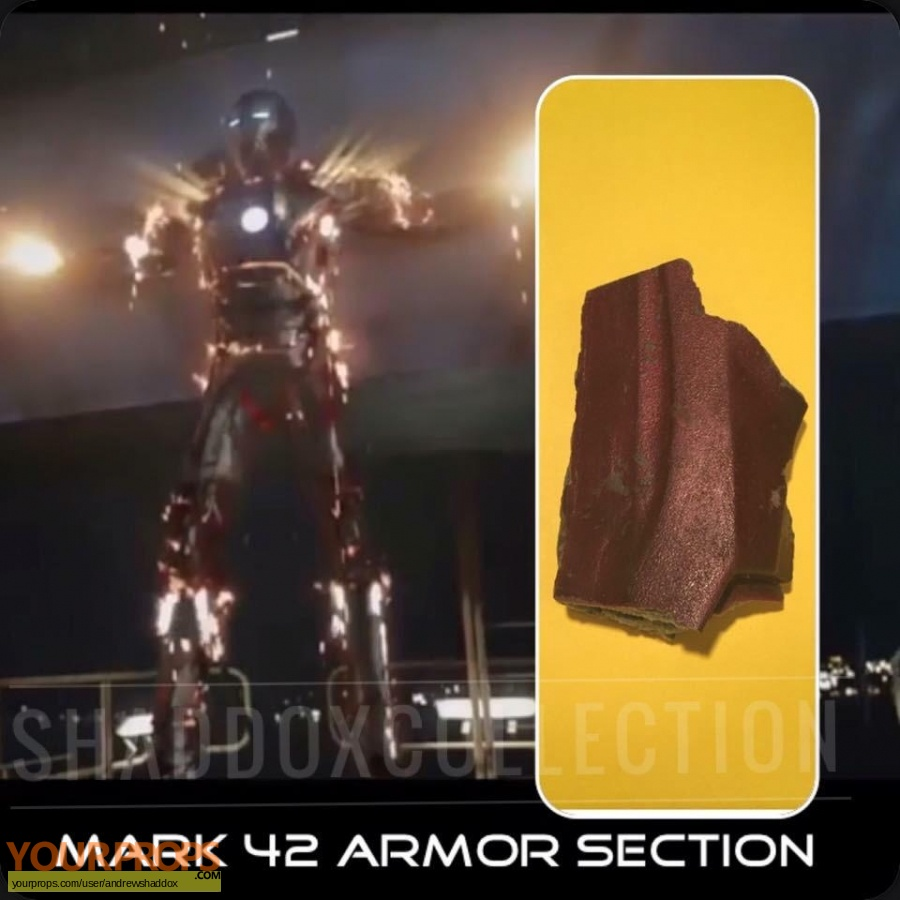 Iron Man 3 original movie prop