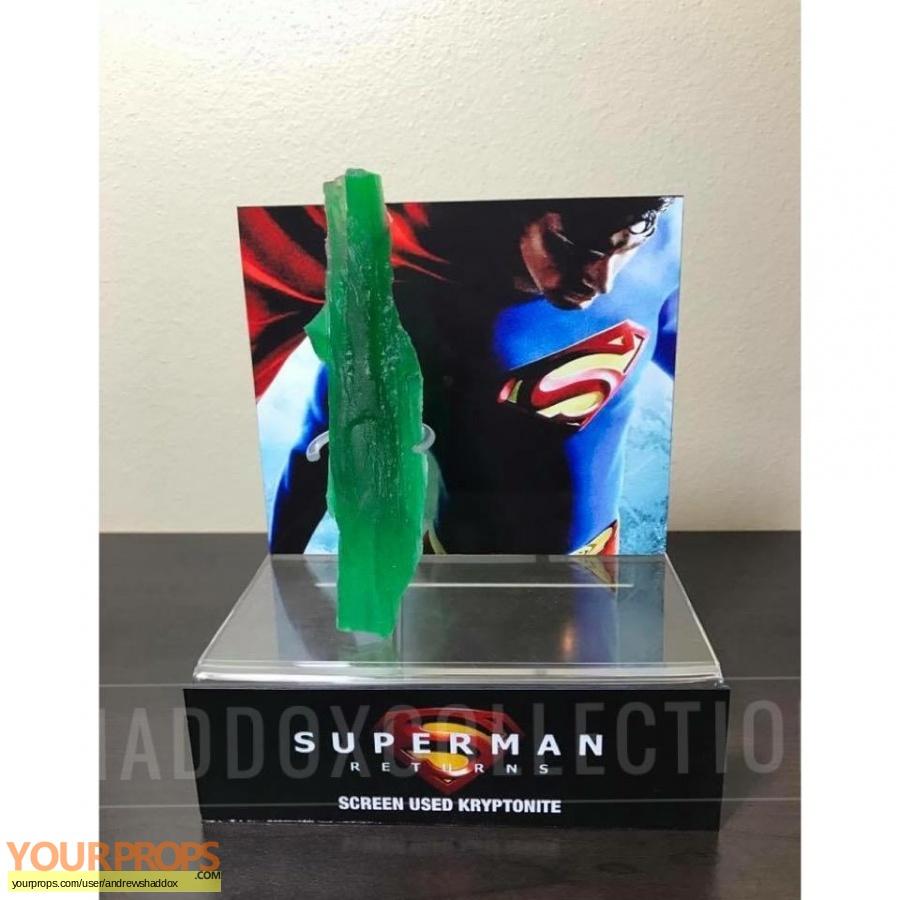 Superman Returns original movie prop