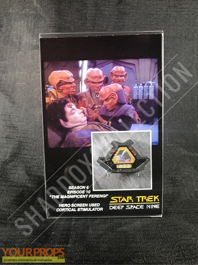 Star Trek  Deep Space Nine original movie prop