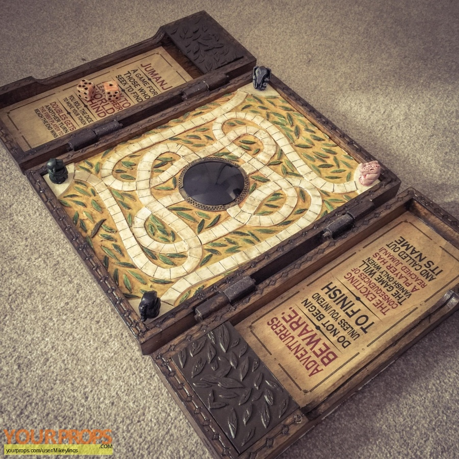 Jumanji made from scratch movie prop