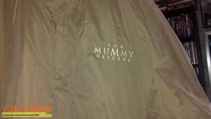 The Mummy Returns original film-crew items