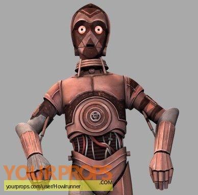 Star Wars  Clone Wars  (Cartoon) replica movie prop
