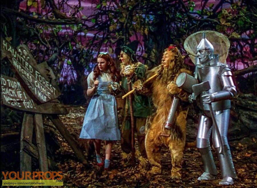The Wizard of Oz made from scratch movie prop