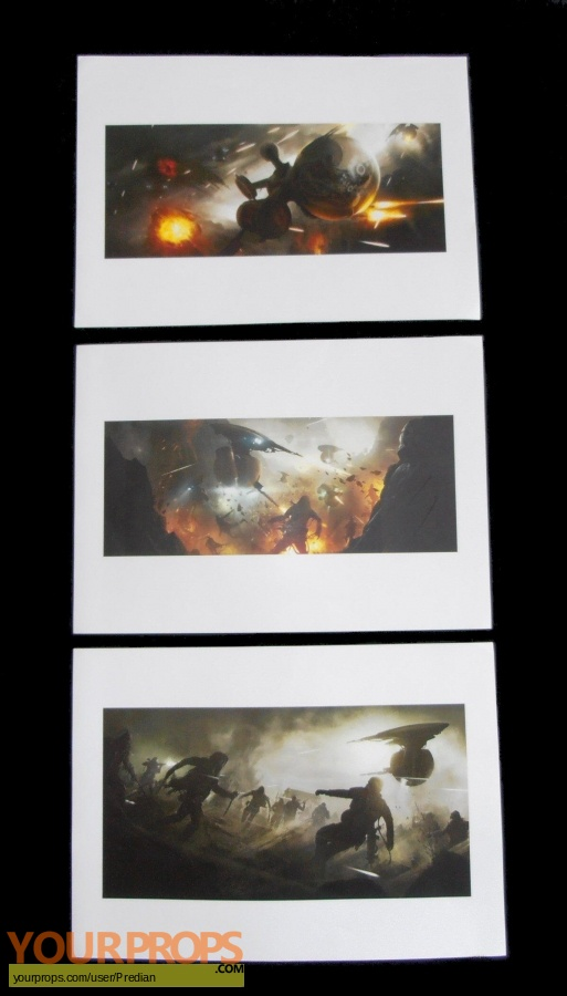 Oblivion original production artwork