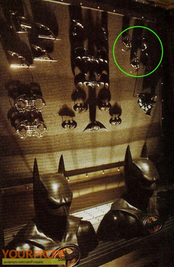Batman Forever original movie prop weapon