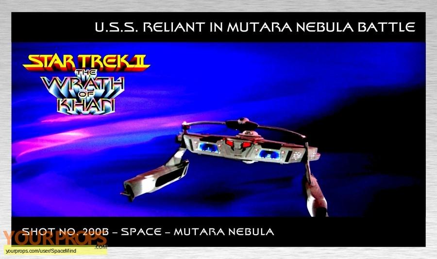 Star Trek II  The Wrath of Khan original production artwork