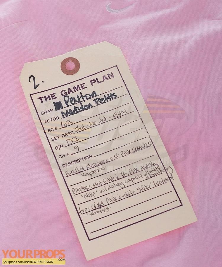 The Game Plan original movie costume