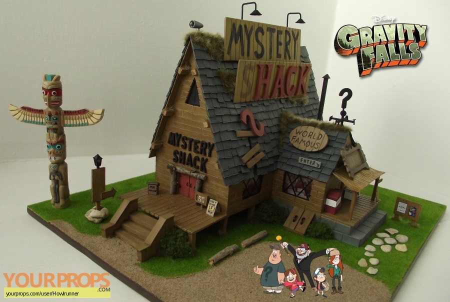 Gravity Falls made from scratch model   miniature