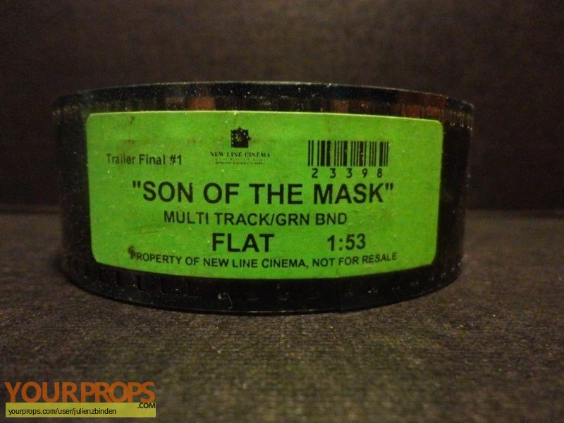 Son of the Mask original production material