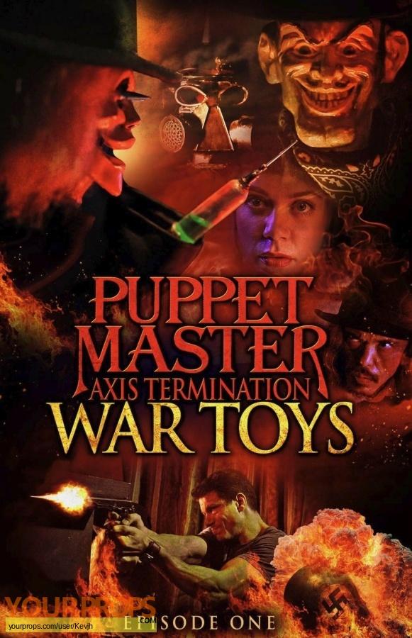 Puppet master axis termination original movie prop