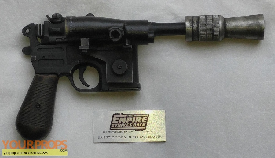 Star Wars  The Empire Strikes Back made from scratch movie prop weapon