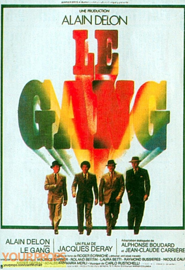 Le Gang replica movie prop