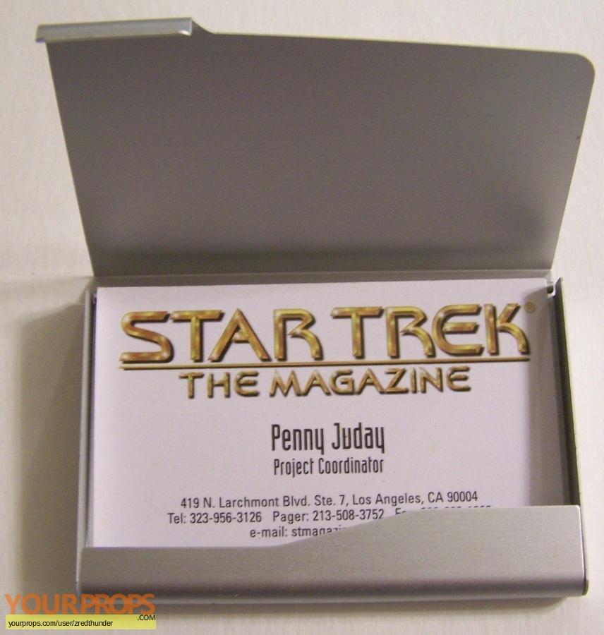 Star Trek The Magazine original production material