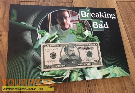 Breaking Bad original movie prop