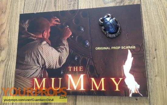 The Mummy original movie prop