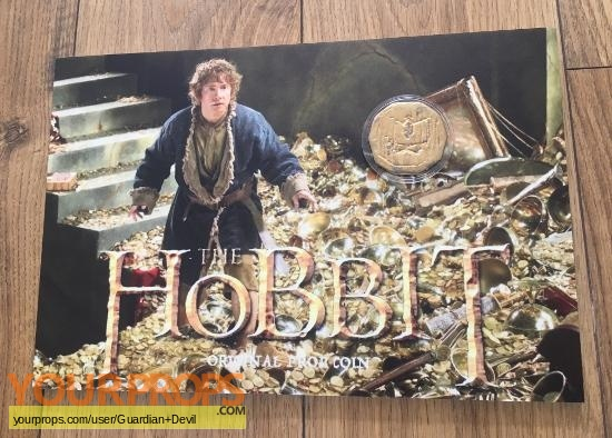 The Hobbit  The Desolation of Smaug original movie prop