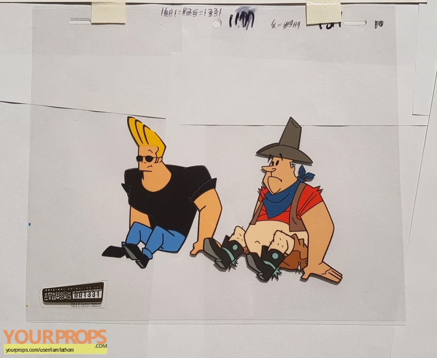 Johnny Bravo original production artwork