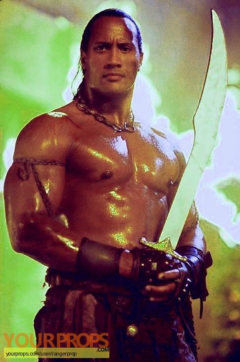 The Scorpion King original movie prop