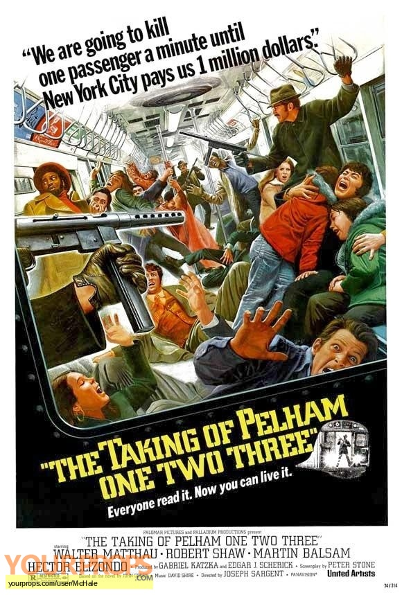 The Taking of Pelham One Two Three replica movie prop
