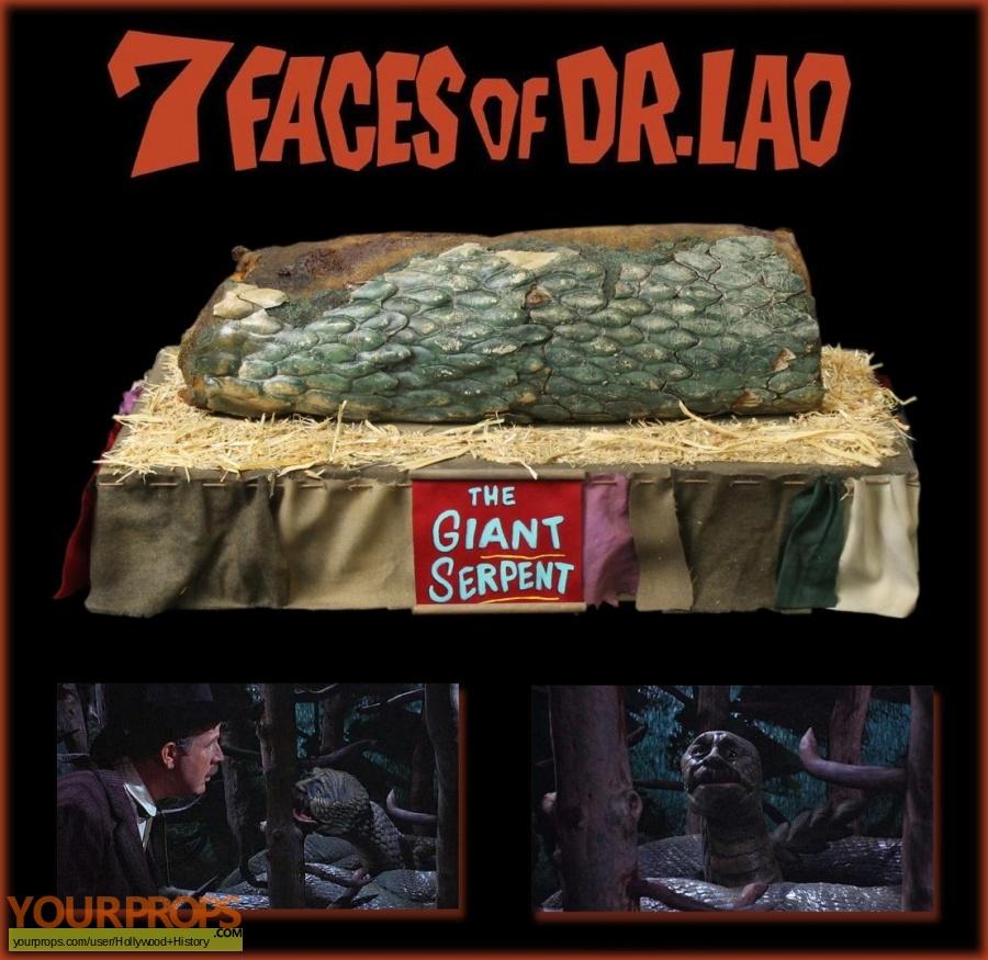Seven Faces of Dr Lao original movie prop