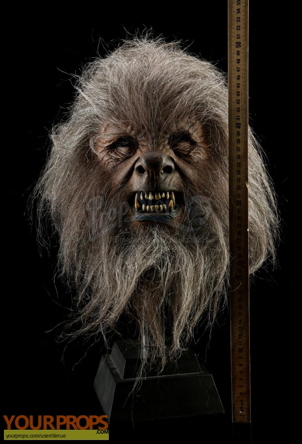 The Wolfman original movie prop