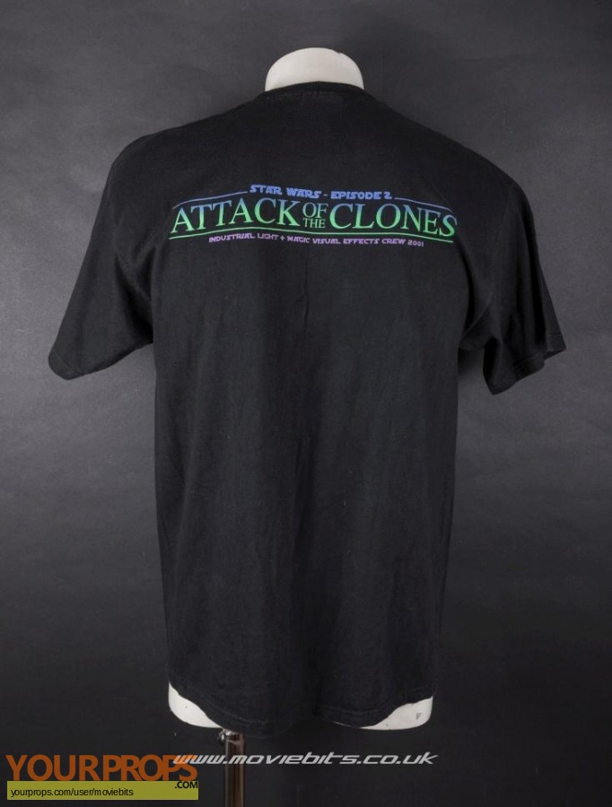Star Wars  Attack Of The Clones original film-crew items