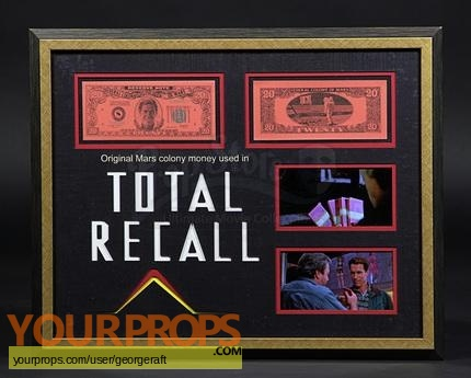 Total Recall original movie prop