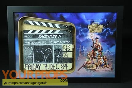 National Lampoons European Vacation original production material